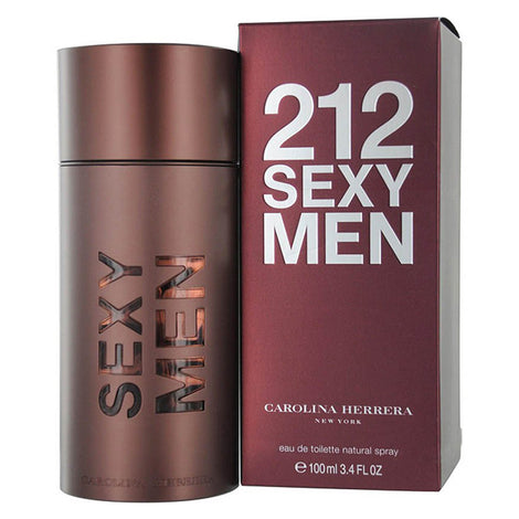 Carolina Herrera 212 Sexy EDT Spray for Men 3.4 oz / 100 ml