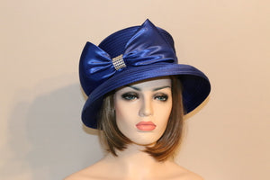 Bucket Satin Royal Blue