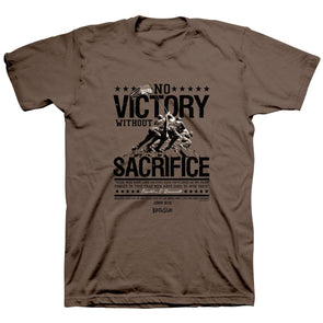 Kerusso® Christian T-Shirt Roosevelt No Victory Without Sacrifice Clothing