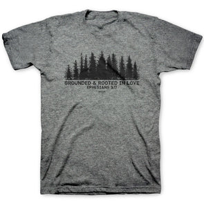 Kerusso Christian T-Shirt Rooted And Grounded In Love
