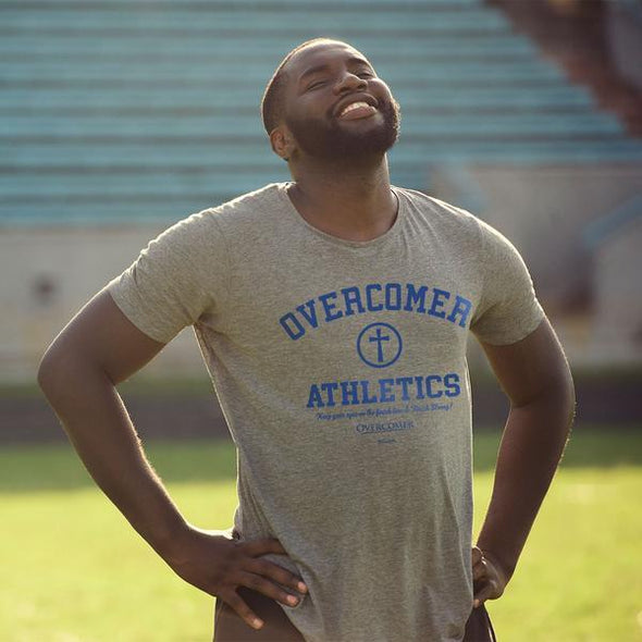 Kerusso Christian T-Shirt Overcomer Movie Athletic