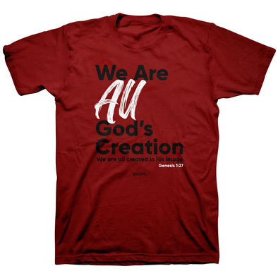 Kerusso Christian T-Shirt All God's Creation