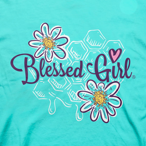 Blessed Girl Womens T-Shirt Honey