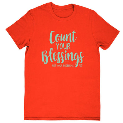 Blessed Girl Womens Boyfriend T-Shirt Count Your Blessings T-Shirts