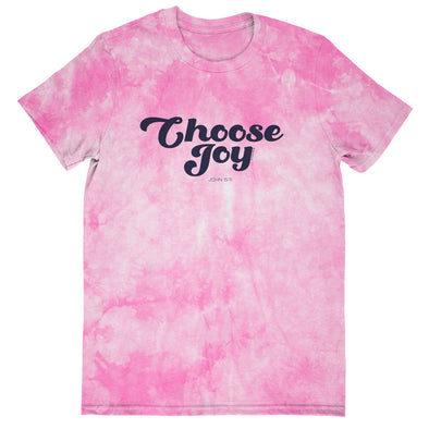 Blessed Girl Womens Tie Dye T-Shirt Choose Joy T-Shirts
