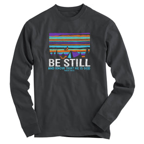 Light Source Long Sleeve T-Shirt - Be Still Tent