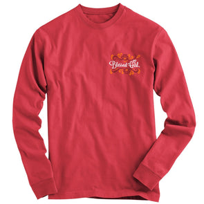 Blessed Girl Long Sleeve T-Shirt - But First Jesus