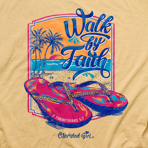 Cherished Girl® - Walk by Faith Adult T-Shirt ™