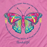 Cherished Girl Christian T-Shirt All Things Are New 2 Corinthians 5:17