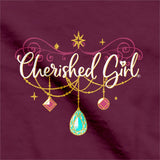 Cherished Girl Christian T-Shirt More Precious Than Jewels Proverbs 31