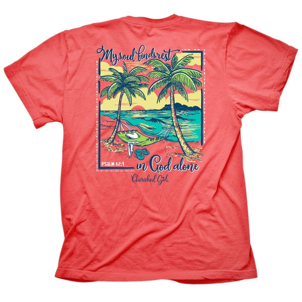 Cherished Girl Womens T-Shirt Beach Hammock