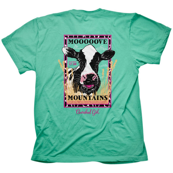 Cherished Girl Womens T-Shirt Moo