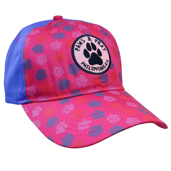 Cherished Girl Womens Cap Paws And Pray