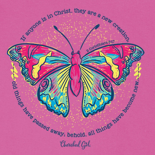 Cherished Girl Christian T-Shirt New Creation
