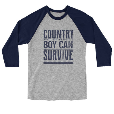 Light Source Mens Raglan T-Shirt Country Boy