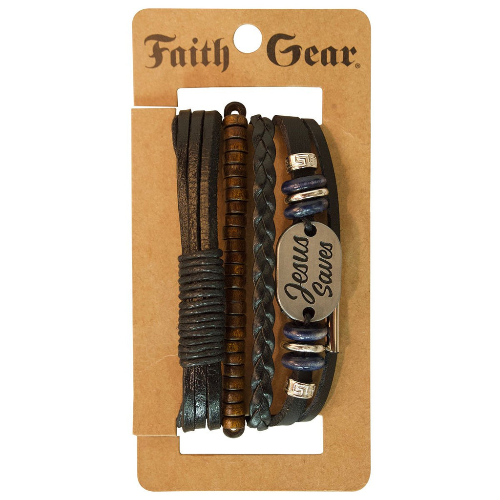 Faith Gear Christian Bracelet Jesus Saves
