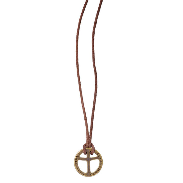 Peace Cross Christian Necklace