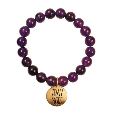 Faith Gear Pray More Womens Bracelet