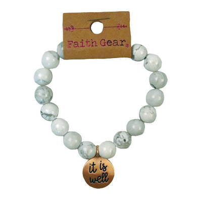 Faith Gear It Is Well Womens Bracelet