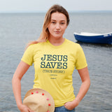 grace & truth Christian T-Shirt Jesus Saves John 11:25