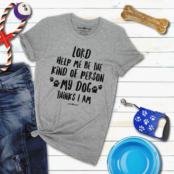 grace & truth Christian T-Shirt My Dog