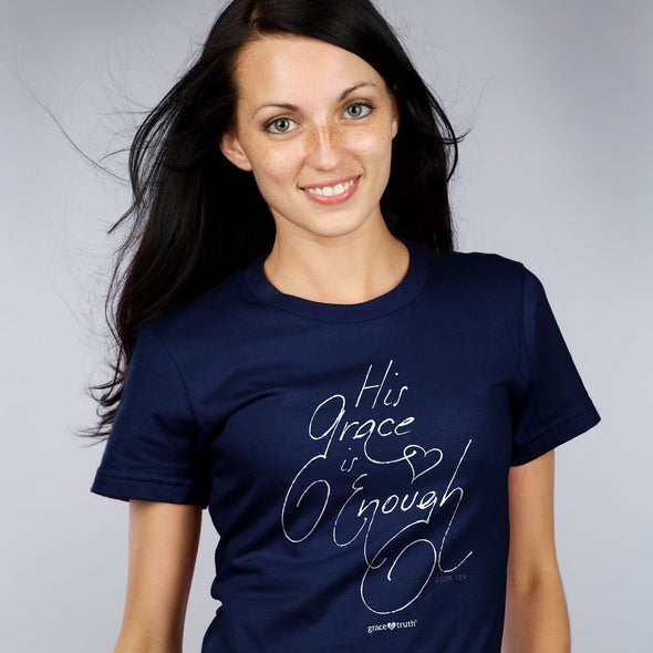 grace & truth Womens T-Shirt His Grace