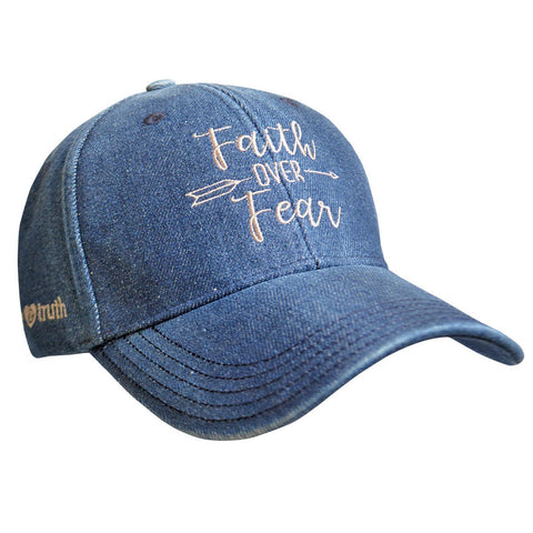 grace & truth® Womens Hat Faith Over Fear