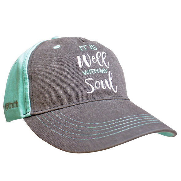 grace & truth® Womens Hat It Is Well With My Soul