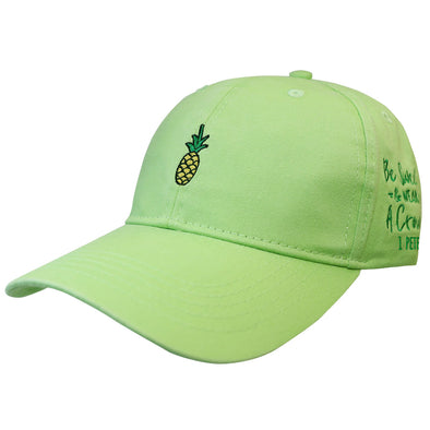 grace & truth Womens Cap Pineapple