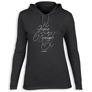grace & truth Womens Hooded T-Shirt His Grace