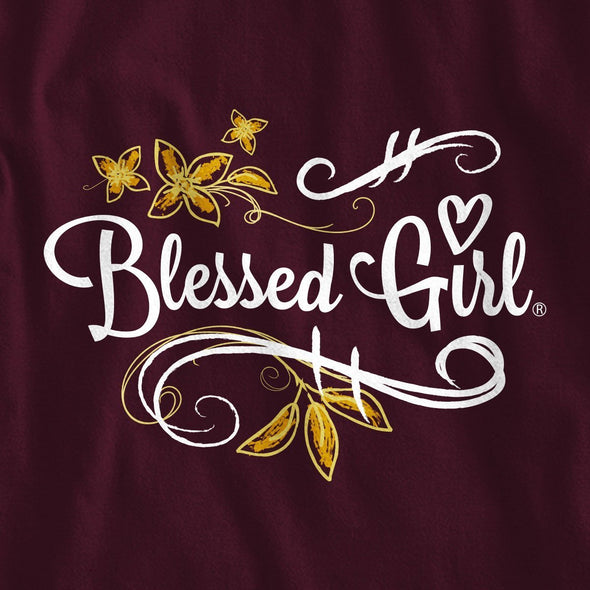 Blessed Girl Long Sleeve T-Shirt - God Of Hope