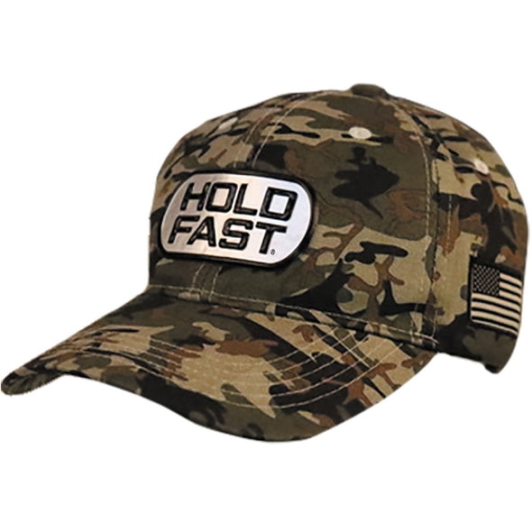 HOLD FAST Mens Cap Dog Tag