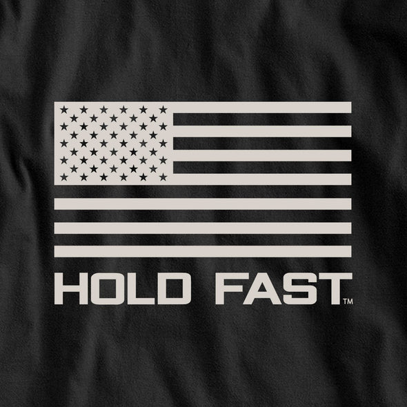 HOLD FAST Mens Long Sleeve T-Shirt Eisenhower