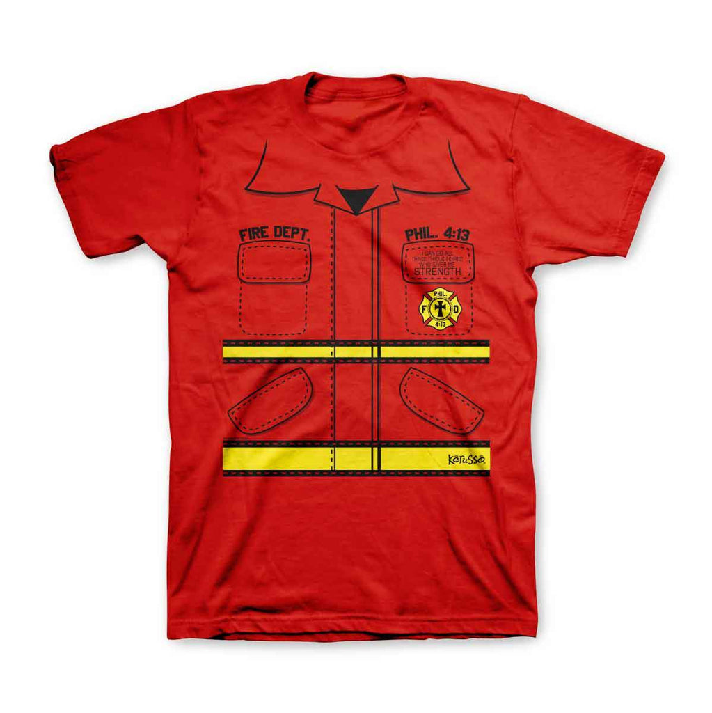 Fire Department Kids Christian T-Shirt ™