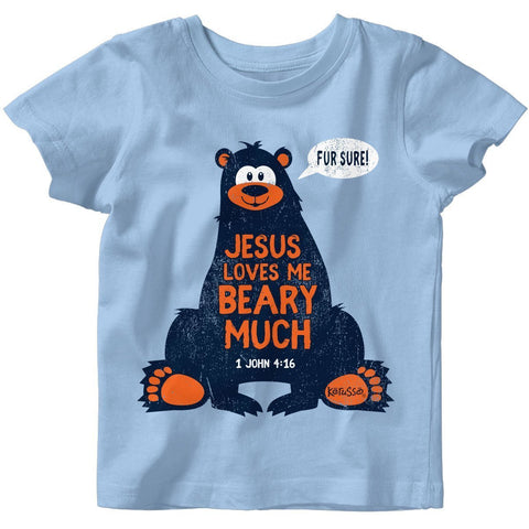 Kerusso Baby T-Shirt Jesus Loves Me