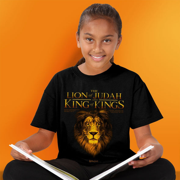 Kerusso Kidz Christian T-Shirt King Lion Clothing
