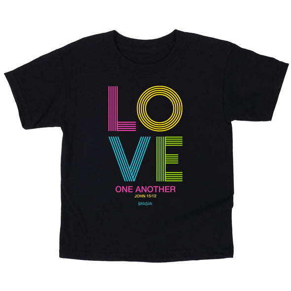 Kerusso Kids T-Shirt Love Stripes T-Shirts