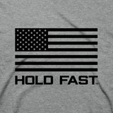 Hold Fast Christian T-Shirt God's Side Abraham Lincoln