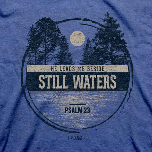 Light Source Mens T-Shirt Beside Still Waters T-Shirts