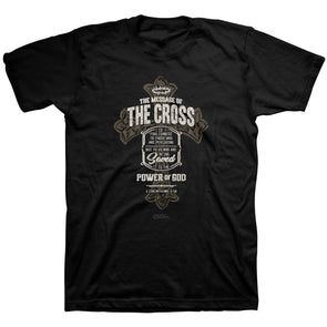 Light Source Mens T-Shirt Power Cross T-Shirts