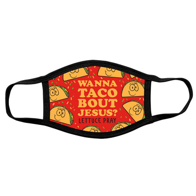 Kerusso Face Mask Wanna Taco Masks