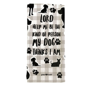 grace & truth My Dog Tea Towel