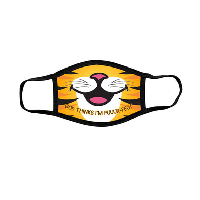 Kerusso Youth Face Mask Tiger