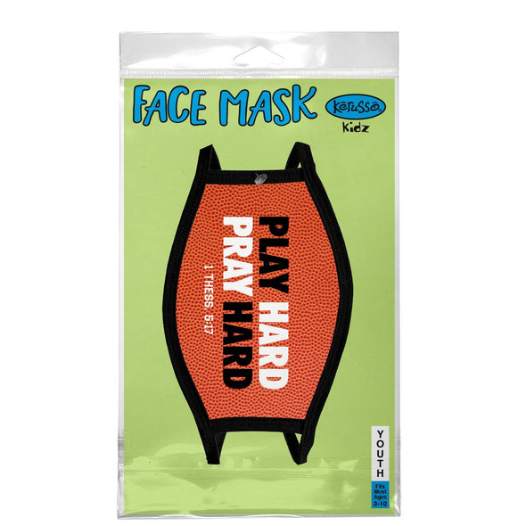 Kerusso Youth Face Mask Basketball