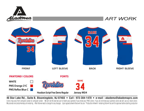 Berkeley Revolution Blue Jersey