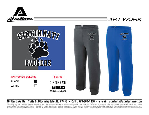Cincinnati Badgers Sweat Pants