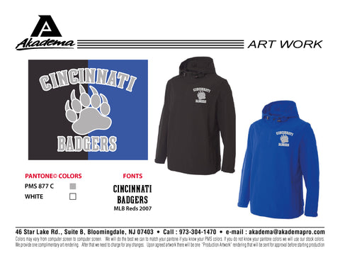 Cincinnati Badgers Windbreaker