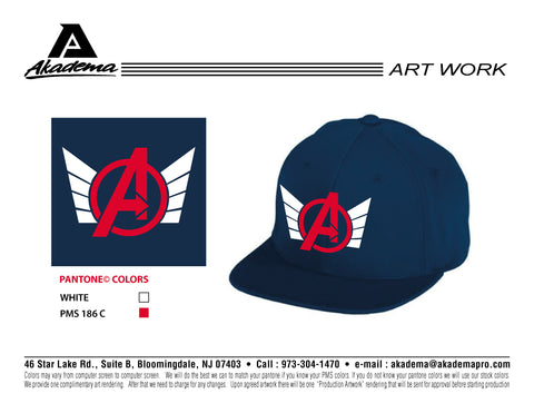 Avengers Baseball Club Hat