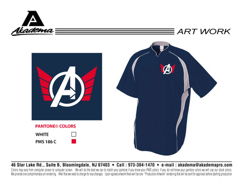 Avengers Baseball Club Cage Jacket