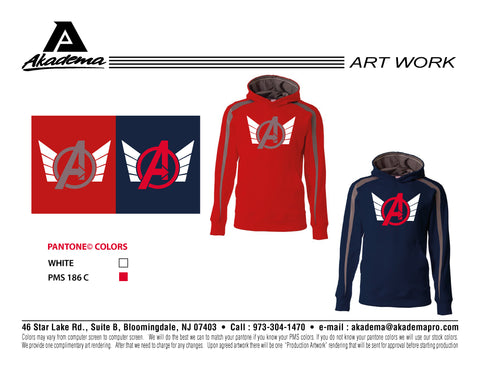 Avengers Baseball Club Sweat Shirt